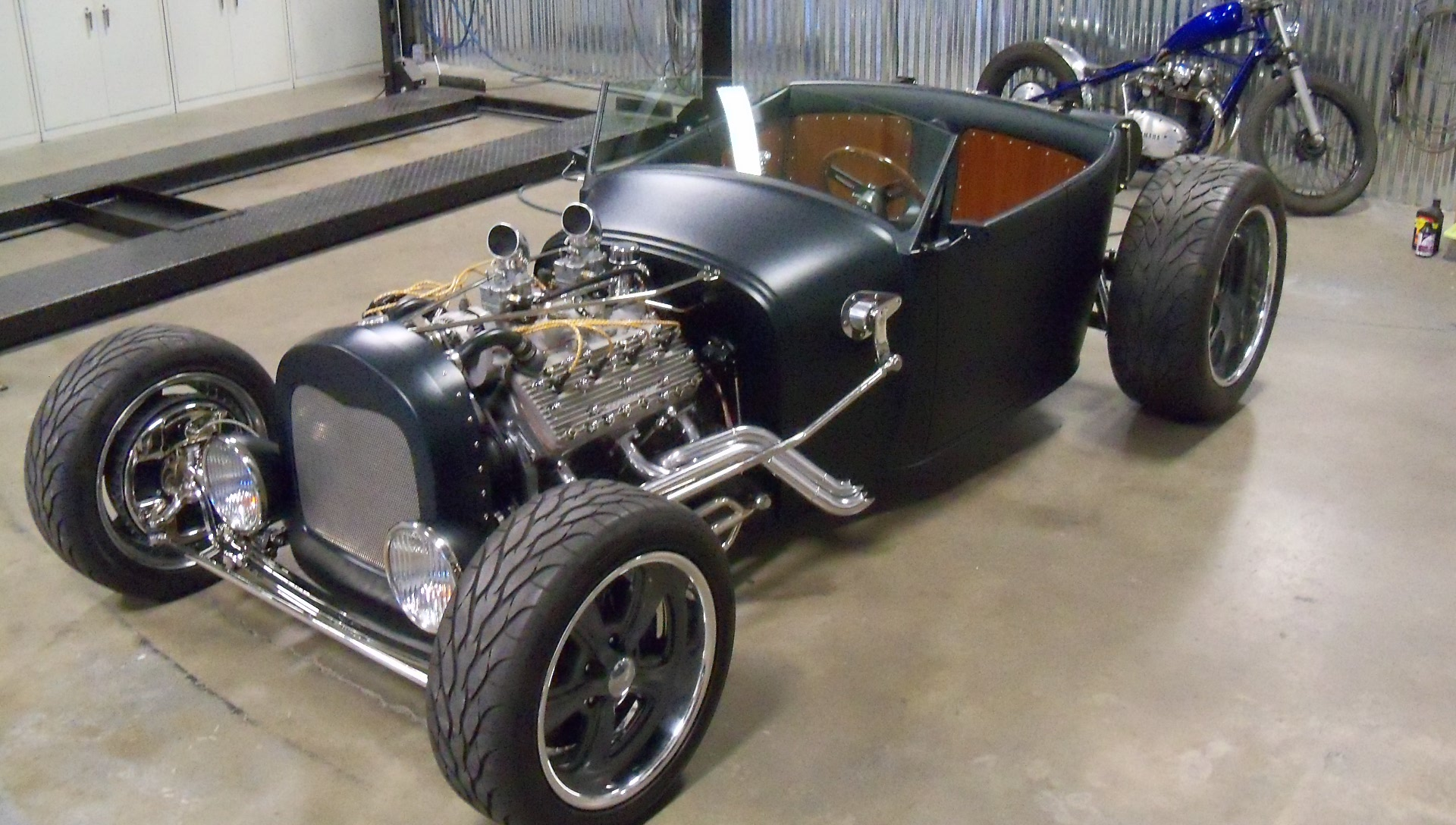 29 Ford Roadster Kenny S Rod Shop Fabrication Division