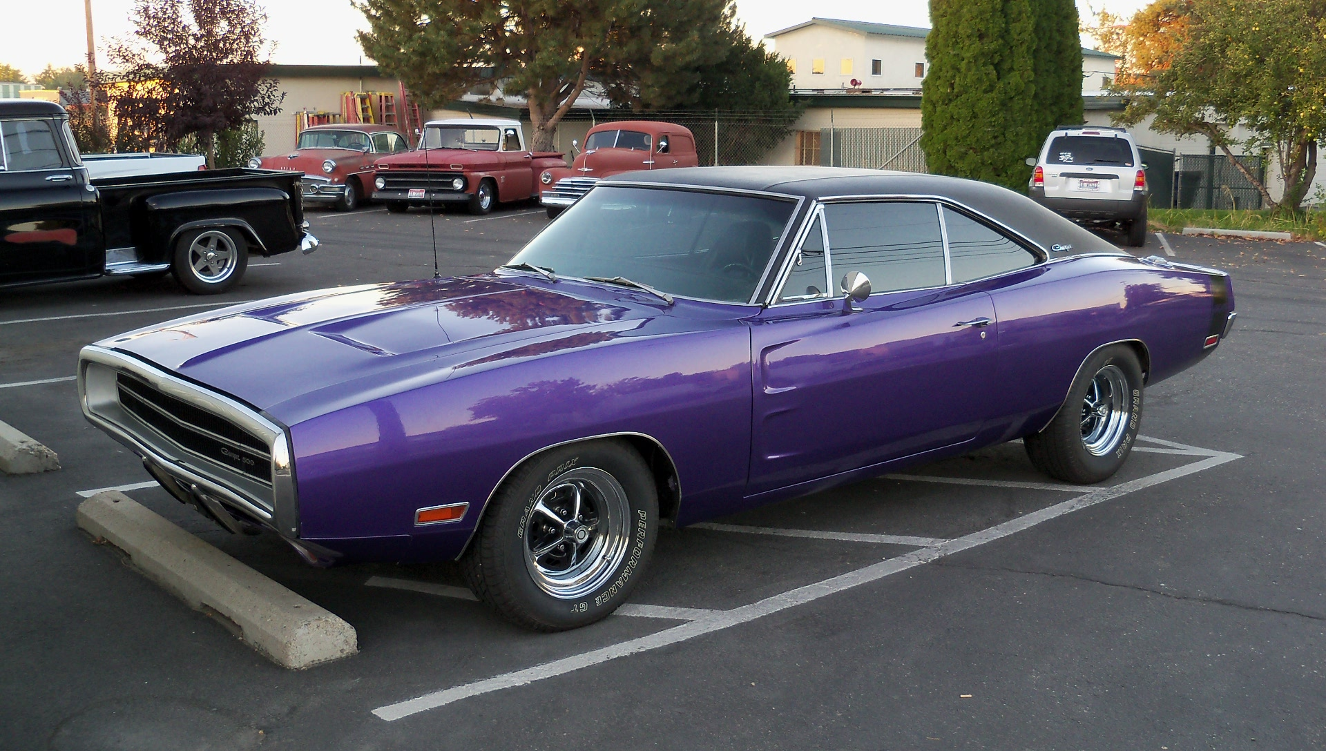 Steve brought us his '70 Dodge Charger for Kenny and Crew to do some