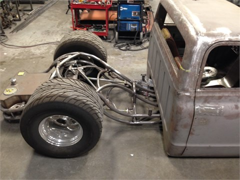 PROJECT FOR SALE- Tube Truck Chassis | Kenny's Rod Shop